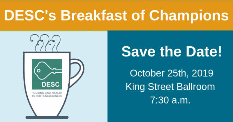 Save the date for the 2019 breakfast of champions